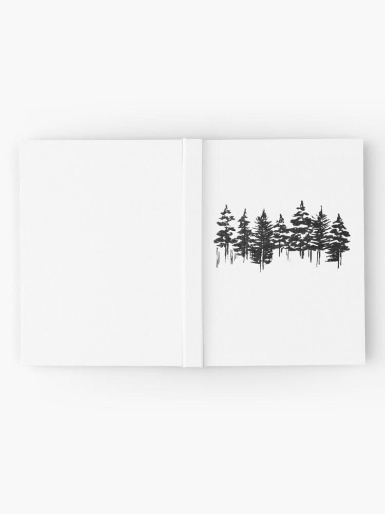 Alternative Ansicht von Alte Kiefer Notizbuch