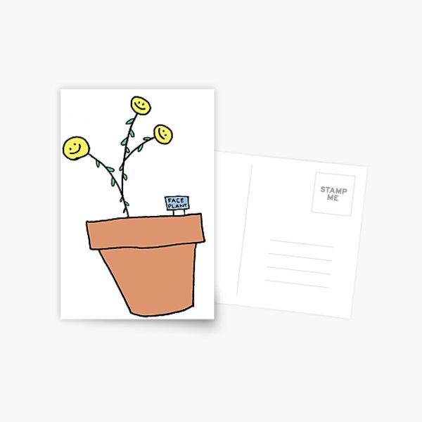 FACE PLANT! Postcard