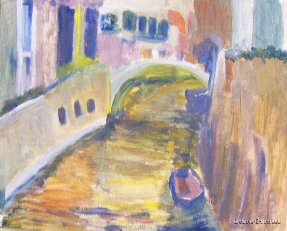 Venice in Abstract by Debbie Douglass