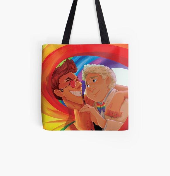 GO Pride All Over Print Tote Bag