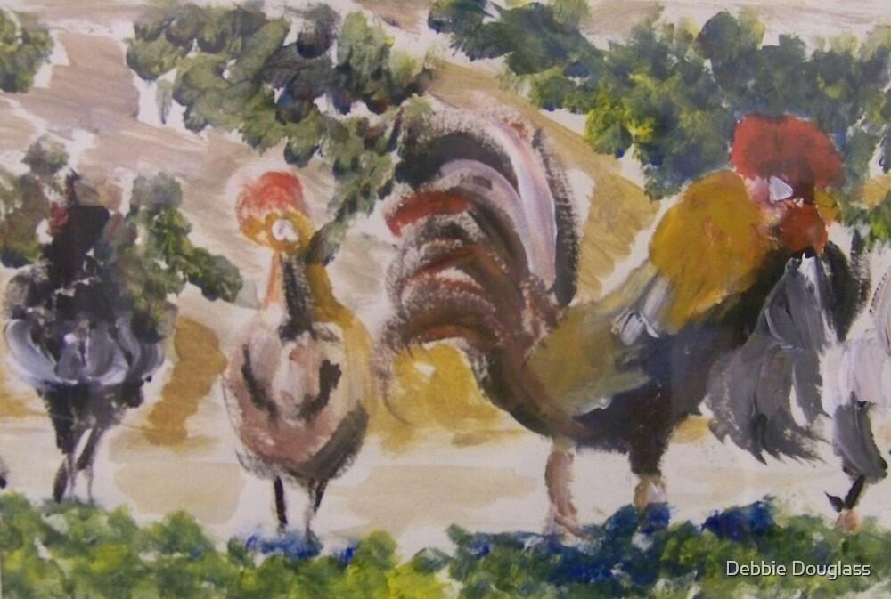Cocks in Marseilles by Debbie Douglass