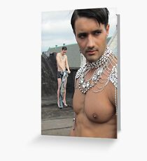 Male models Greeting Card