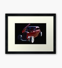 The Show Stopper - 1934 Ford Coupe Framed Print