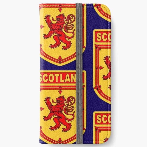 SCOTLAND SHIELD iPhone Wallet