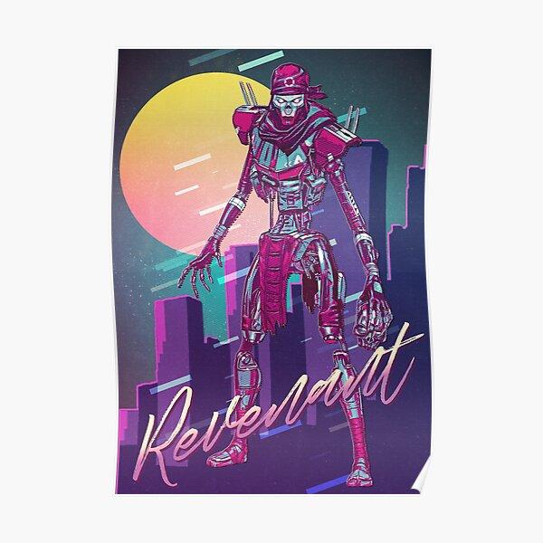 Apex Legends - Revenant 80s Retro Poster