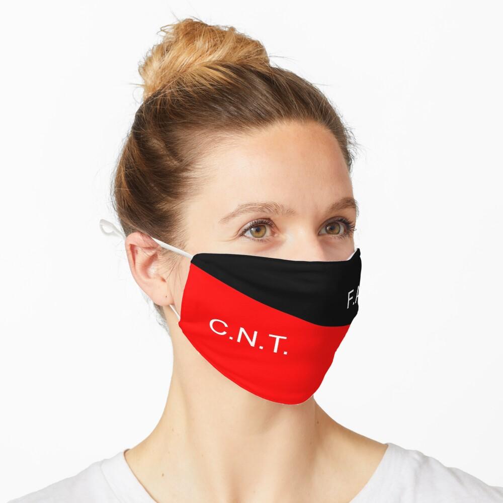 C.N.T. F.A.I. Anarcho Syndicalist  Mask