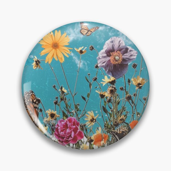 bloom daily planners wildflowers Pin