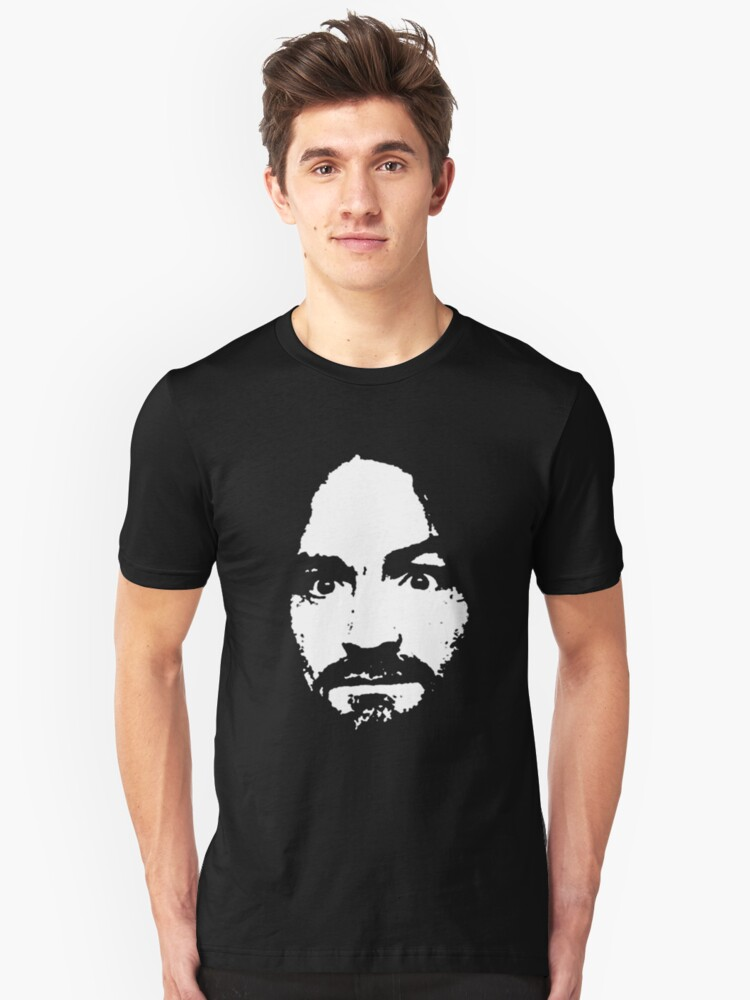 Charles Manson - T-Shirt Unisex T-Shirt Front
