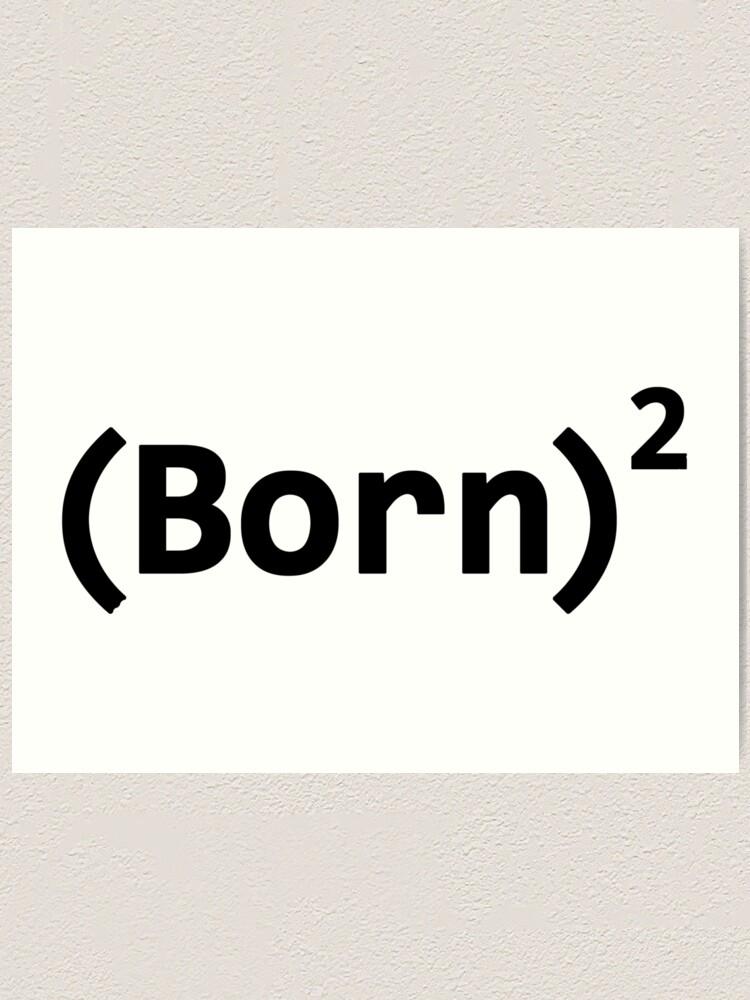 Alternate view of BORN AGAIN Art Print