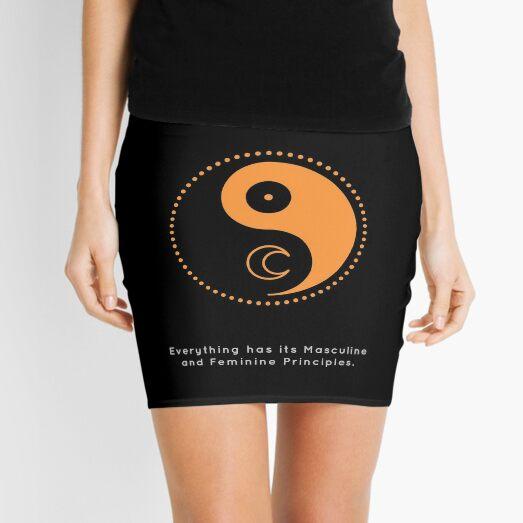 The Principle of Gender - Shee Symbol Mini Skirt