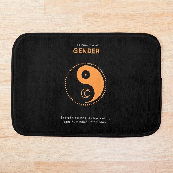 The Principle of Gender - Shee Symbol Bath Mat