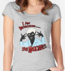 Brutalitops...the magician Women's Fitted Scoop T-Shirt
