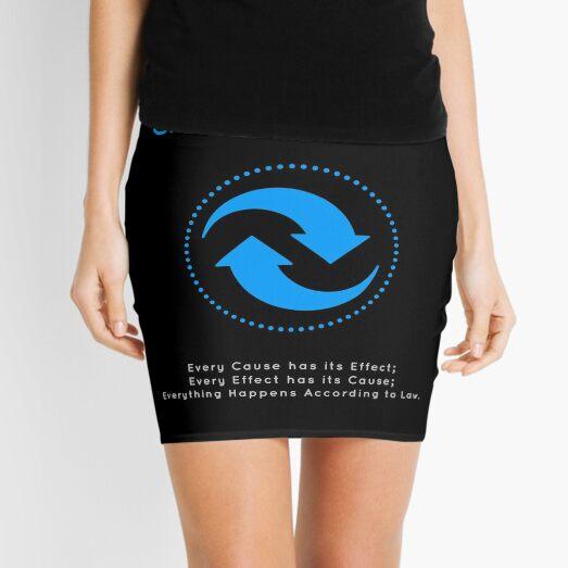 The Principle of Cause & Effect - Shee Symbol Mini Skirt