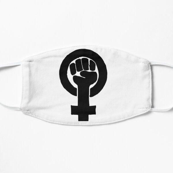 FEMINISM SIGN Flat Mask