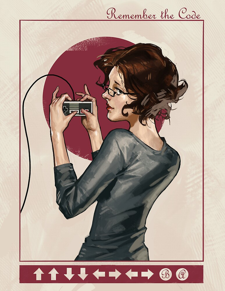 "Modern Ladies #1: ""Old School"" by Samuel Deats"