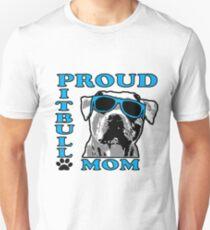 PROUD PIT BULL MOM 2 T-Shirt