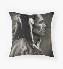 Native American - Vintage Throw Pillow