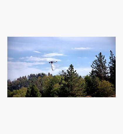 Skycrane Photographic Print