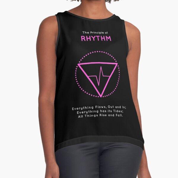 The Principle of Rhythm - Shee Symbol Sleeveless Top