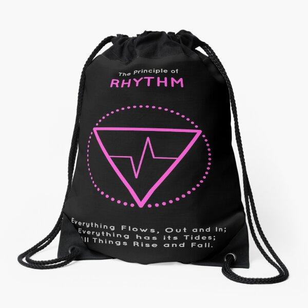 The Principle of Rhythm - Shee Symbol Drawstring Bag