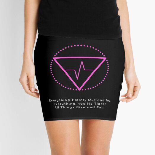 The Principle of Rhythm - Shee Symbol Mini Skirt