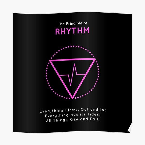 The Principle of Rhythm - Shee Symbol Poster