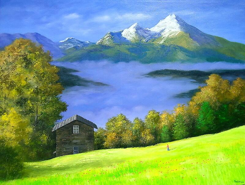 IN THE LAP OF NATURE 1  by PRIYADARSHI GAUTAM
