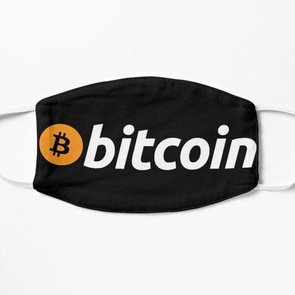 Bitcoin Mascarilla plana