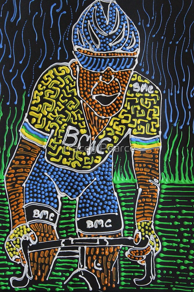 Yellow for Cadel by Tracey Pearce