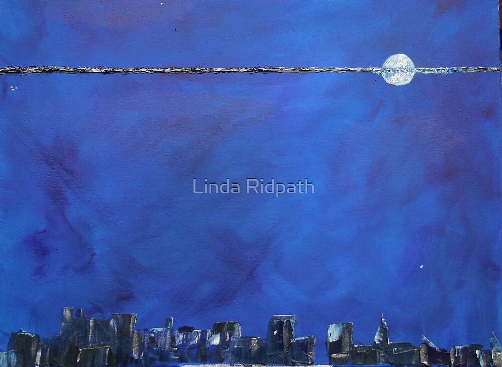 THANKYOU   Blue moon top ten place by Linda Ridpath