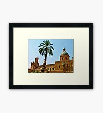 Palermo Cathedral..c Framed Print