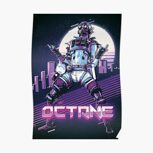 Apex Legends - Octane 80s Retro Póster