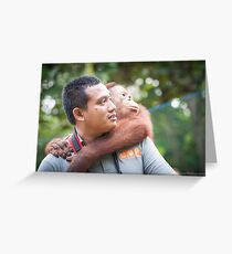 Hardi & Hercules Greeting Card