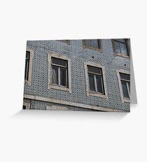 Lisbon Tiles Greeting Card