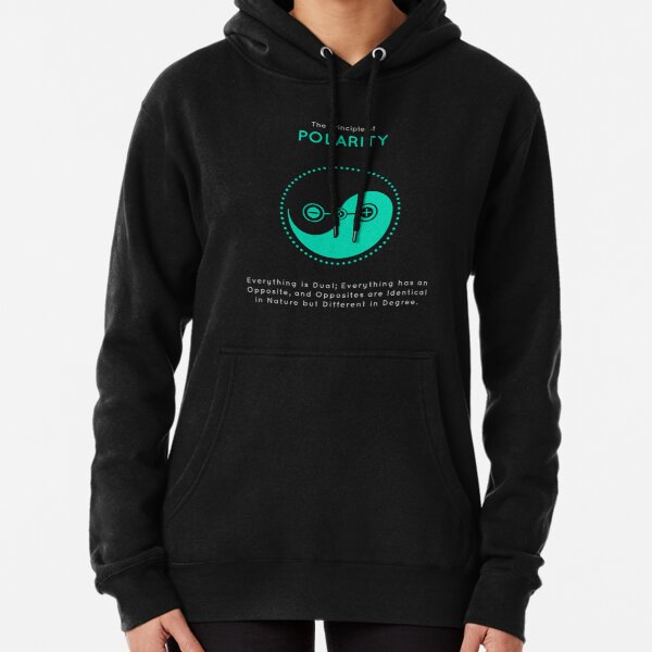 The Principle of Polarity - Shee Symbol Pullover Hoodie