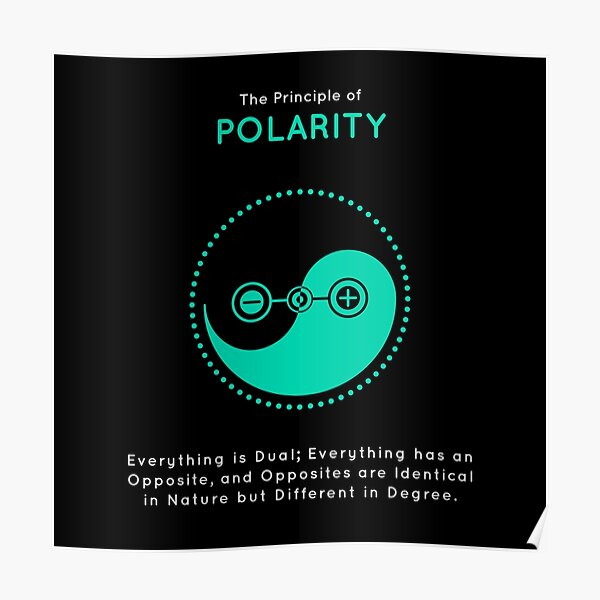 The Principle of Polarity - Shee Symbol Poster