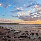 Silver Sands Beach (Facing South) by Gavin Kerslake