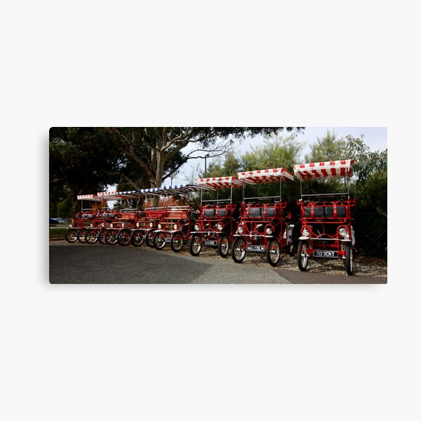 The Old Peddlers Canvas Print