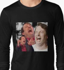 David Mitchell Hysterical Laugh Long Sleeve T-Shirt