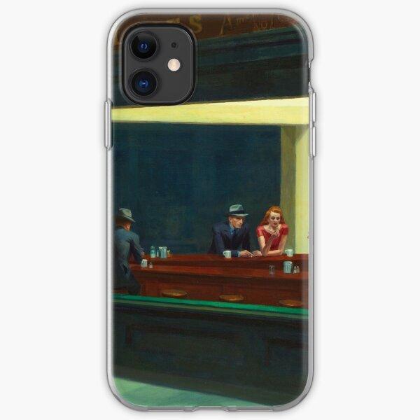 Nighthawks by Edward Hopper 1942 iPhone Soft Case