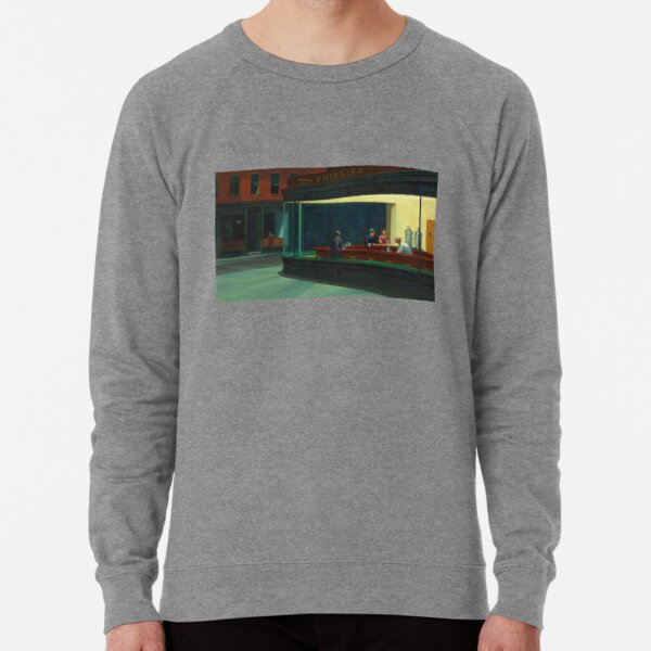 Nighthawks by Edward Hopper 1942 Lightweight Sweatshirt