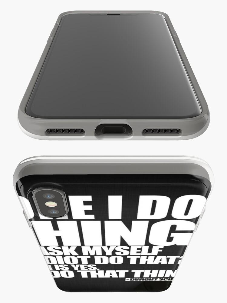 Alternative Ansicht von Bevor ich etwas tue iPhone-Hülle & Cover