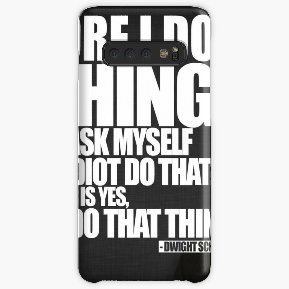 Bevor ich etwas tue Hülle & Klebefolie für Samsung Galaxy