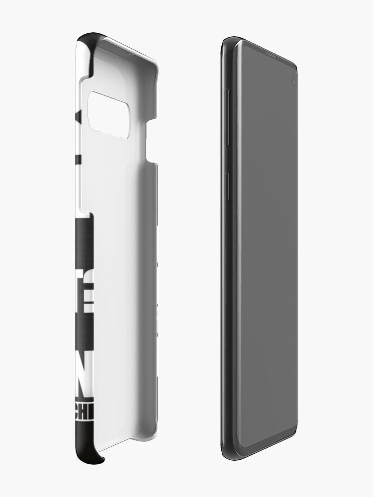 Alternative Ansicht von Bevor ich etwas tue Hülle & Klebefolie für Samsung Galaxy