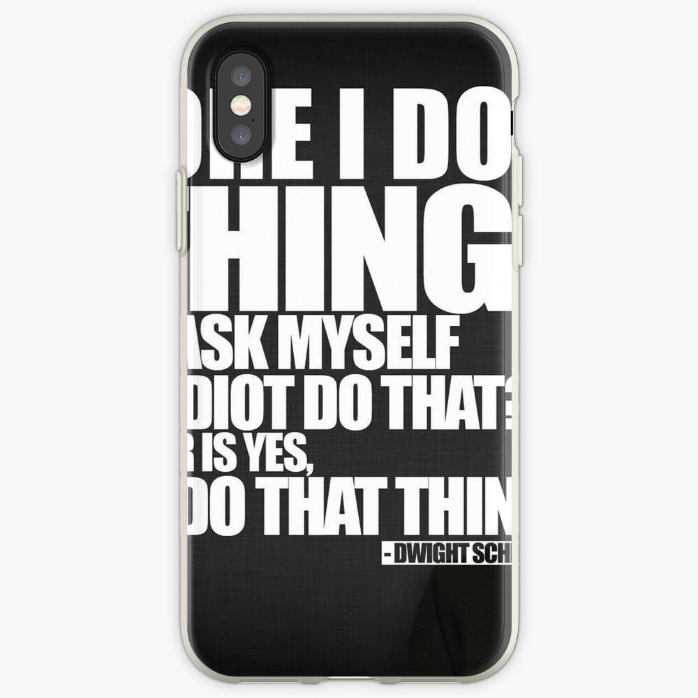 Bevor ich etwas tue iPhone-Hülle & Cover
