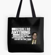 Bevor ich etwas tue Tote Bag