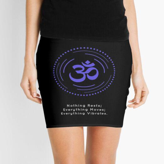 The Principle of Vibration - Shee Symbol Mini Skirt