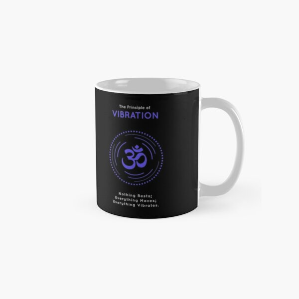 The Principle of Vibration - Shee Symbol Classic Mug