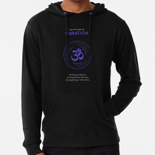 The Principle of Vibration - Shee Symbol Lightweight Hoodie