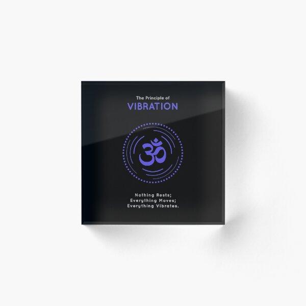 The Principle of Vibration - Shee Symbol Acrylic Block